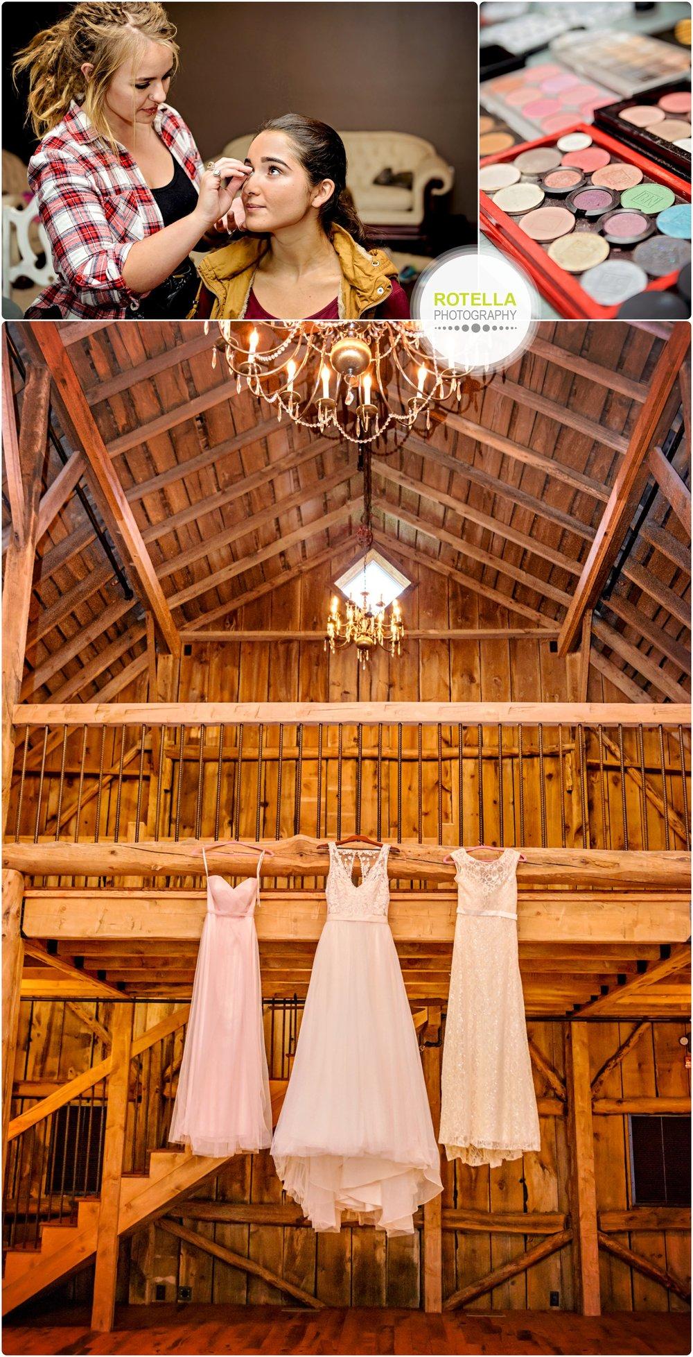 Rolling Ridge Barn and Dresses