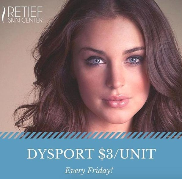 It's almost Fri-yay, and you know what that means...discounted Dysport! $3/unit tomorrow and EVERY Friday. Book instantly link in bio or call (615) 383-6092! #dysportfridays #thenaturalllook #nashvillebeauty