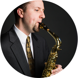 Scott Sandberg - Saxophonist & Assistant Professor of Clarinet/Saxophone—Coordinator of Woodwinds at the University of North Dakota
