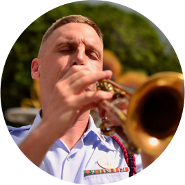 Tom Brown - Co-Founder of Brass Chats & Trumpet Player with the USCG Band
