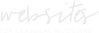 Websites for Classical Musicians