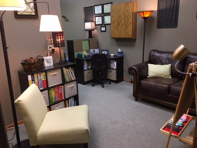 Ashley's therapy office