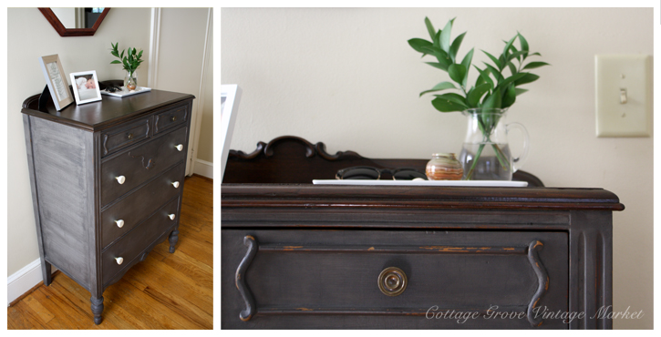 This dresser was our first piece from Cottage Grove Vintage Market