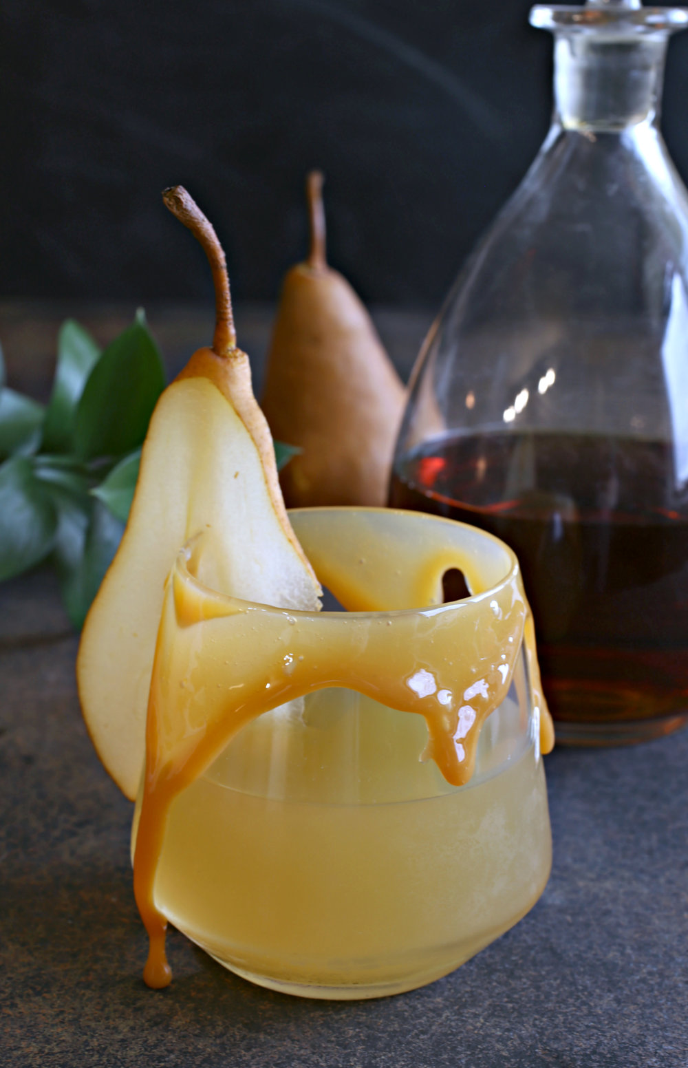 Caramel Pear Bourbon Cocktail Vertical.jpg