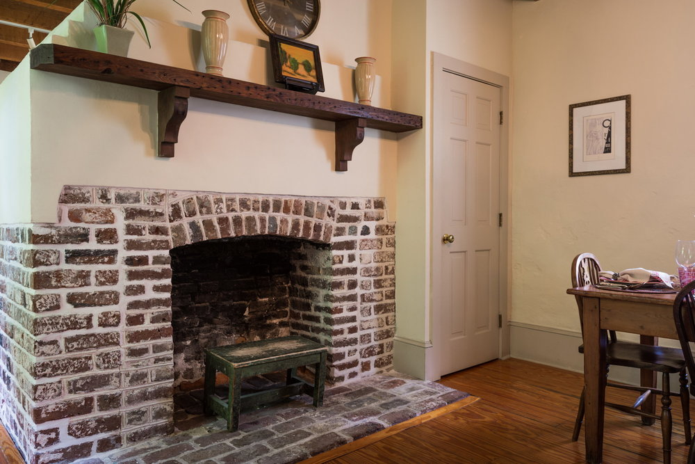 - You are in the original kitchen house of the property with original fireplaces dating back to 1820.