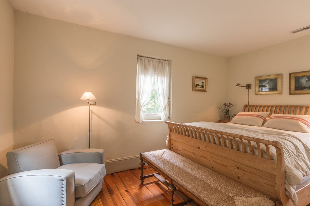 - Upstairs the master bedroom has a luxuriously comfortable queen bed. There are blackout shades throughout. Book it Now!