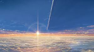 No, this isn't a picture of a sunset. It's an illustration! (drawn by the animation team behind the film, of course).