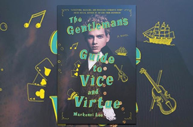 """new post!! check out our story on """"The Gentleman's Guide to Vice and Virtue""""! ✨"""