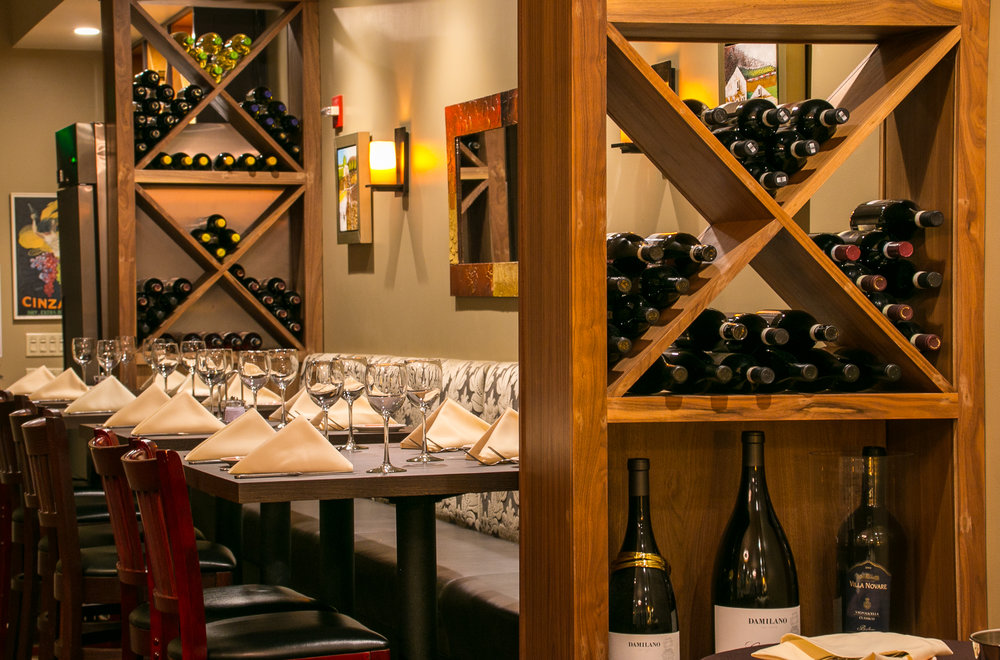 His Own Restaurant - Working with the chef-owner we created a personalized environment where his guests could enjoy both the experience and the excitement of a seat at the chef's table