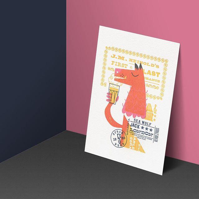 Heinold's First & Last Chance Saloon aka Jack London's Rendezvous #since1883 #oakland #jacklondon #seawolf #letterpress #printseries #art #illustration #artwork #art #print #oaklandillustrated