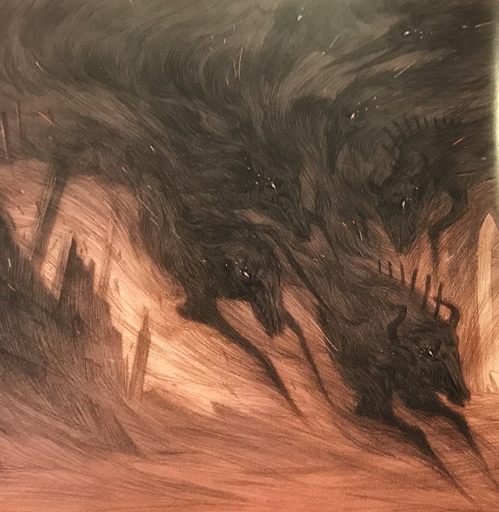 Rovina Cai's illustration for  Tintinnabula  by Margo Lanagan (Little Hare)