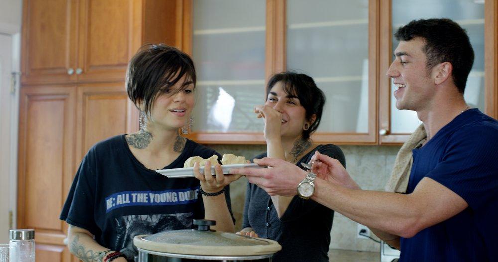 Mario Fabbri Krewella Trying Vegan Kulfi Recipe