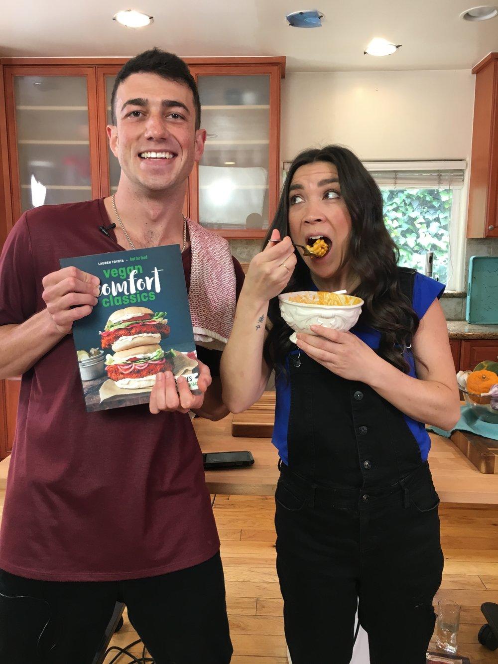 Mario Fabbri Trying Vegan with Lauren Toyota.JPG