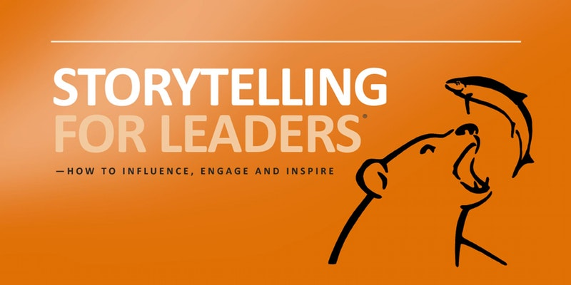 Storytelling For Leaders   Public Program   FIND OUT MORE
