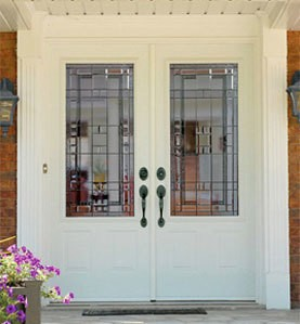 STEEL ENTRY DOORS - Let the sun shine in and add some additional elegance to an entry door, garden door or patio door with a custom transom. Ask us for details. Everything is custom made from the shape, size, type of glass.