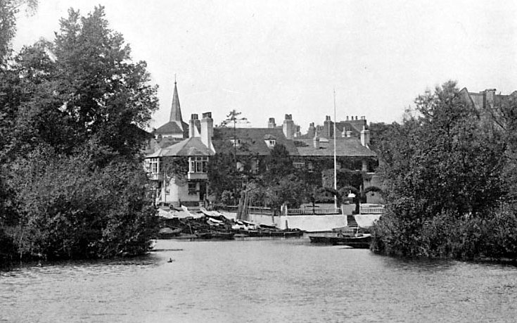 View form the river 1907