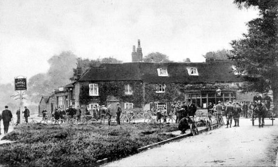 The Angel Pub on Giggs Hill Green