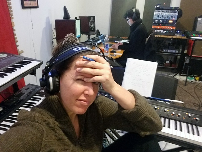 In the Studio with Sune Rose