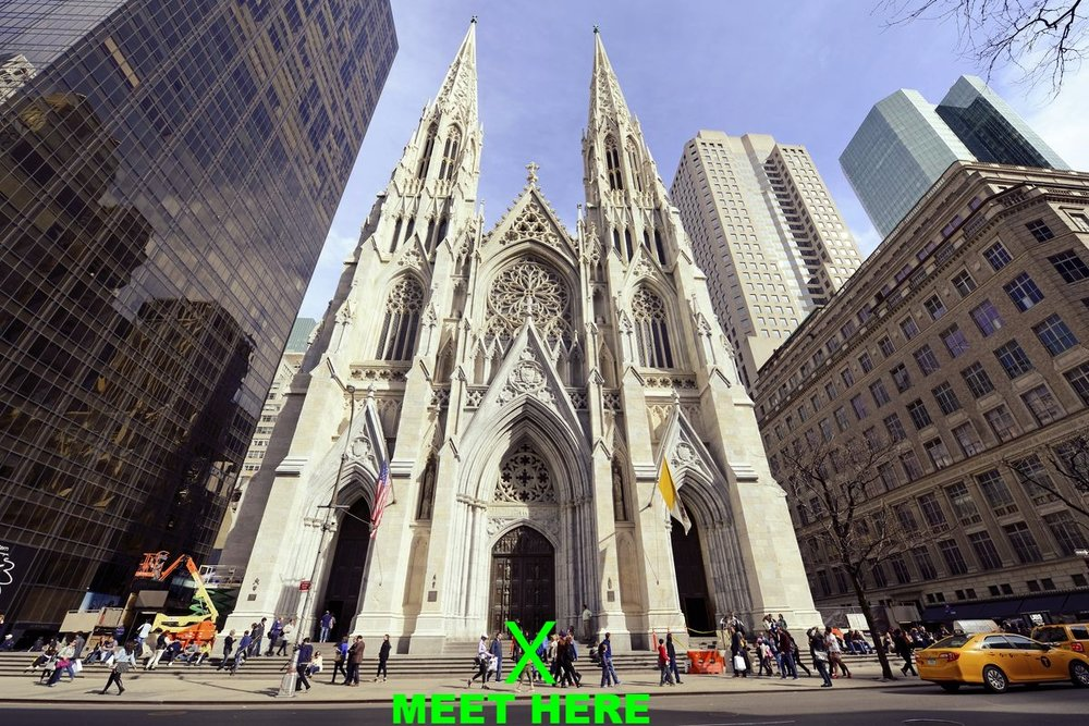 Saint Patrick's Cathedral (5th Avenue between 50th and 51st Street)