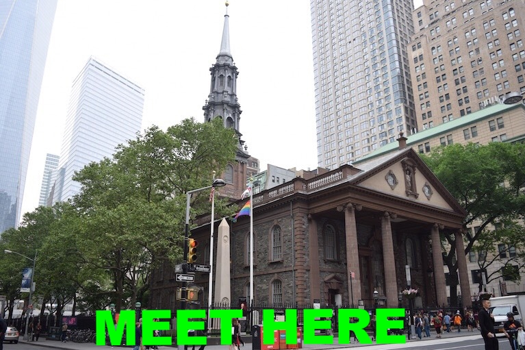 SAINT PAUL'S CHAPEL  (209 BROADWAY, NEW YORK, NY)