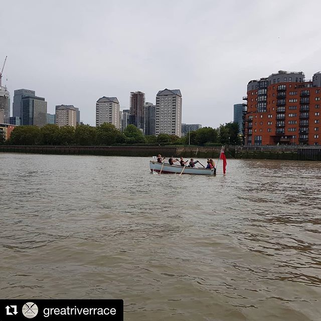 ...and they're off!  Good luck to everyone on the river today #greatriverrace