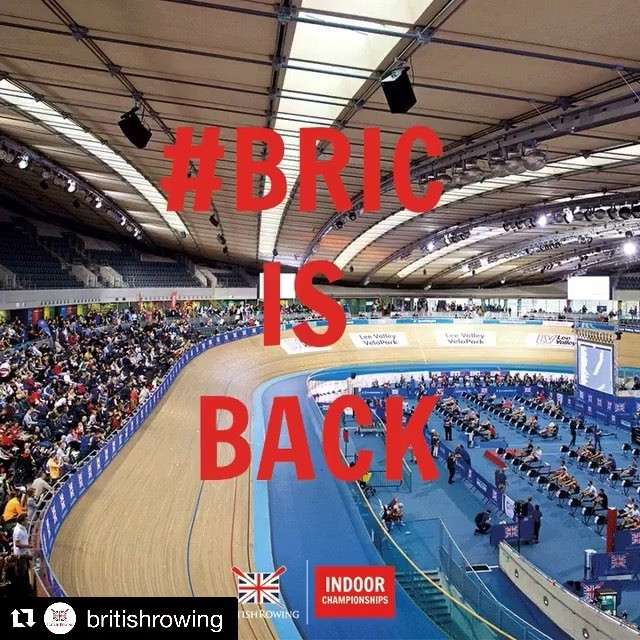 Entries for the British Rowing Indoor Championships (BRIC) are now open, who's in?! #throwback to our very own Tomaso Muzzu who took the 30-39 LM2k in 6:32:1 at #BRIC17 📷 @werow_life 🤘🏼