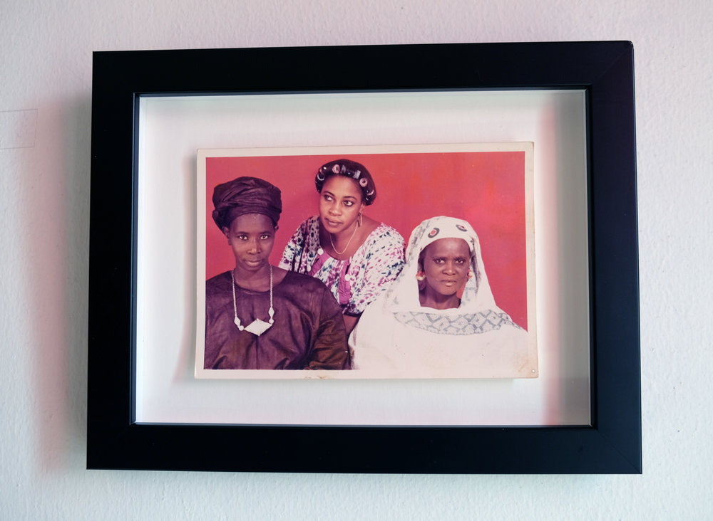 """Images from  Aunty! African Women in the Frame, 1870 to Present   , """"Three Women"""" — Image by Oumar Ly, Podor, Senegal, Circa 1980"""
