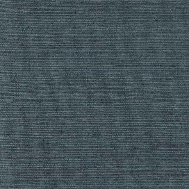Grasscloth Wallpaper - Deep BluePrice shown per Single Roll. Sold only as 2 Single Rolls (physically packaged as one large double roll).$108