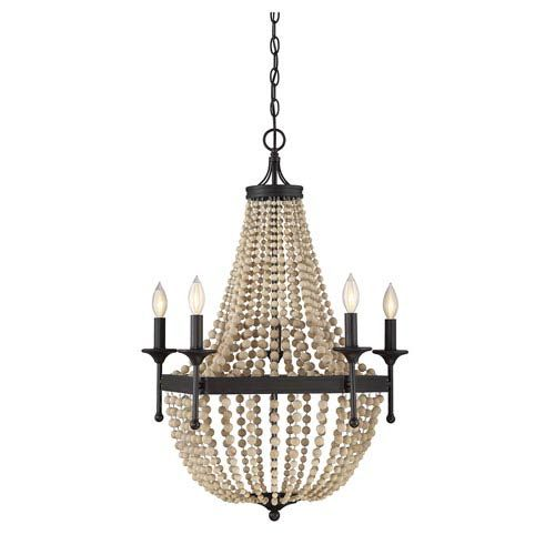 251 First Hayden Five-Light Chandelier - Oil Rubbed Bronze Finish33.00 Inches High24.00 Inches Wide$370.80