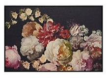 Dutch Bloom II - Giclee printed on canvas with black floater frame. Our canvas artworks are hand-painted or giclee prints on canvas, gallery wrapped around stretcher bars for a clean finish.1 of 3 in a series.Exclusive to Z Gallerie.Dutch Blooms II is available online only$598