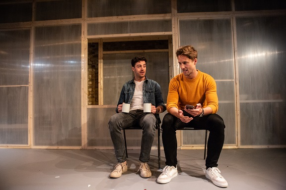 RICHARD HENDERSON AND SAMUEL CURRY IN EYES TO THE WIND AT THE ARCOLA IN APRIL 2018 (photo: ali wright).