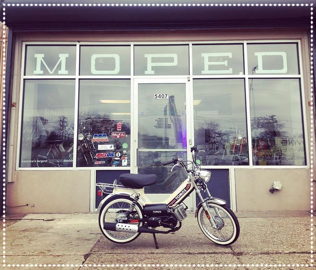 Detroit Moped Works - Detroit, MIFounded in 2014, Detroit Moped Works provides a full range of services including sales, repairs, modifications and performance upgrades for two stroke mopeds.Mission Statement: to get more people out riding and enjoying mopeds.