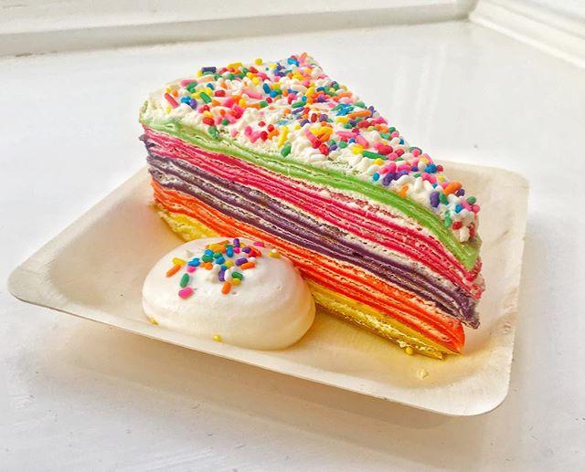 Pancake day! @wework 🌈😁