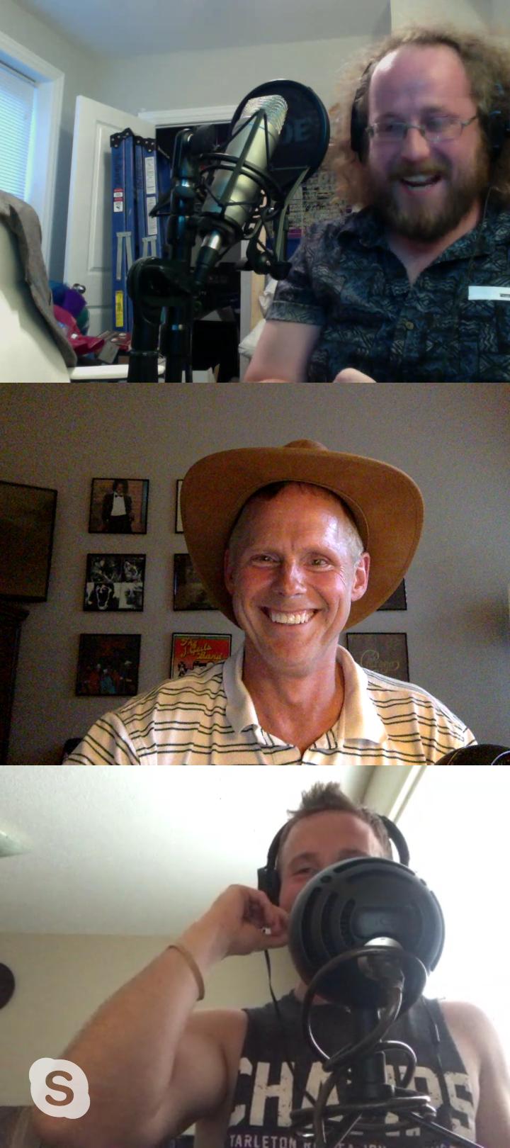 Pop's hat - without headphones