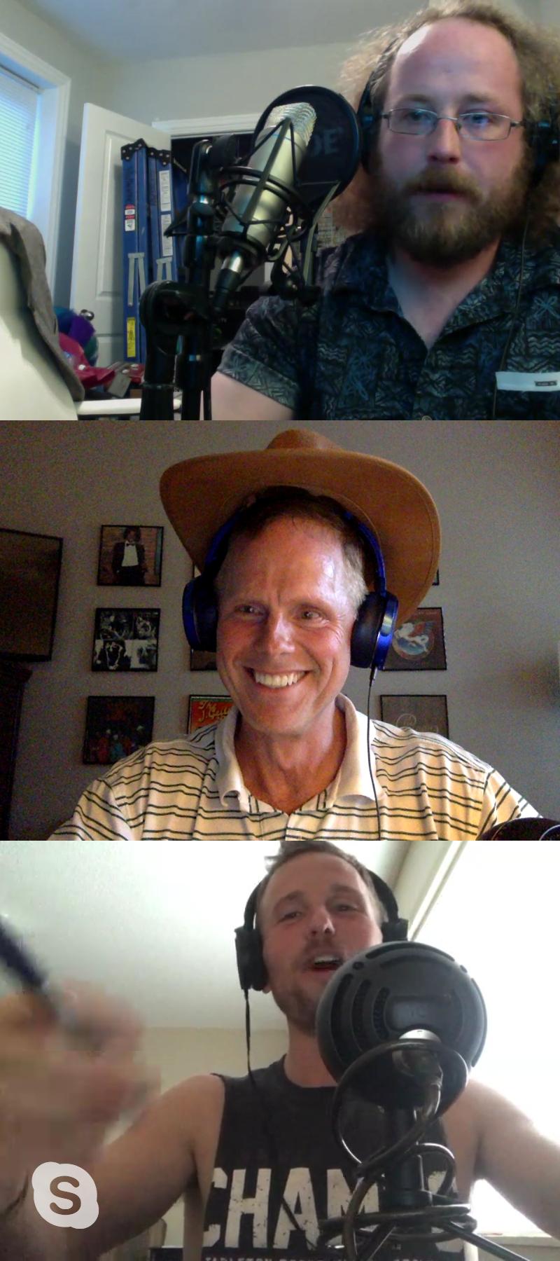Woody's hat - with headphones