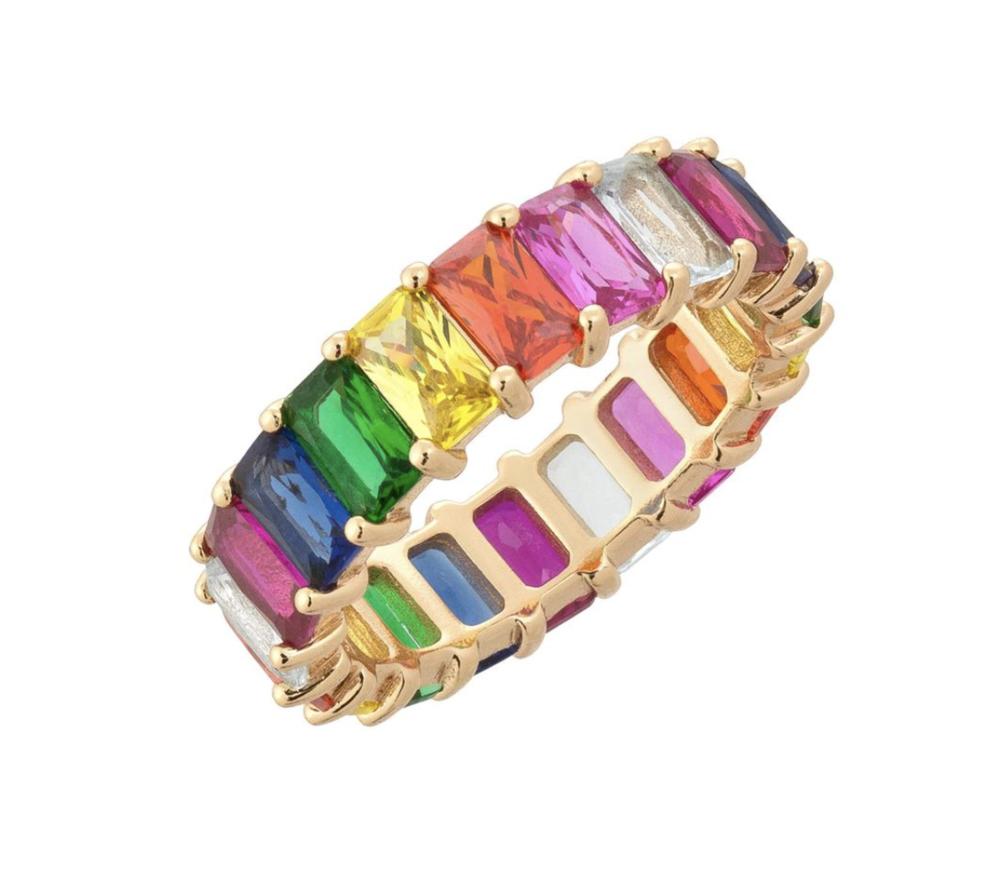 Rainbow Ring, $125