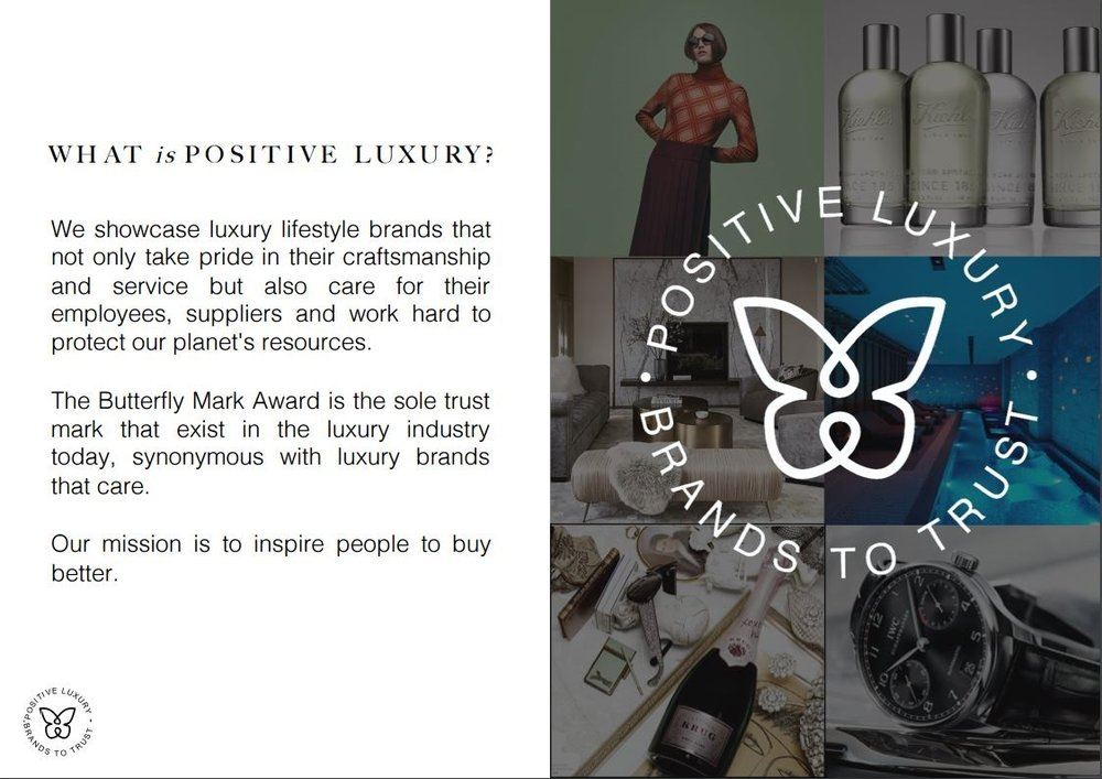 About Positive Luxury poster