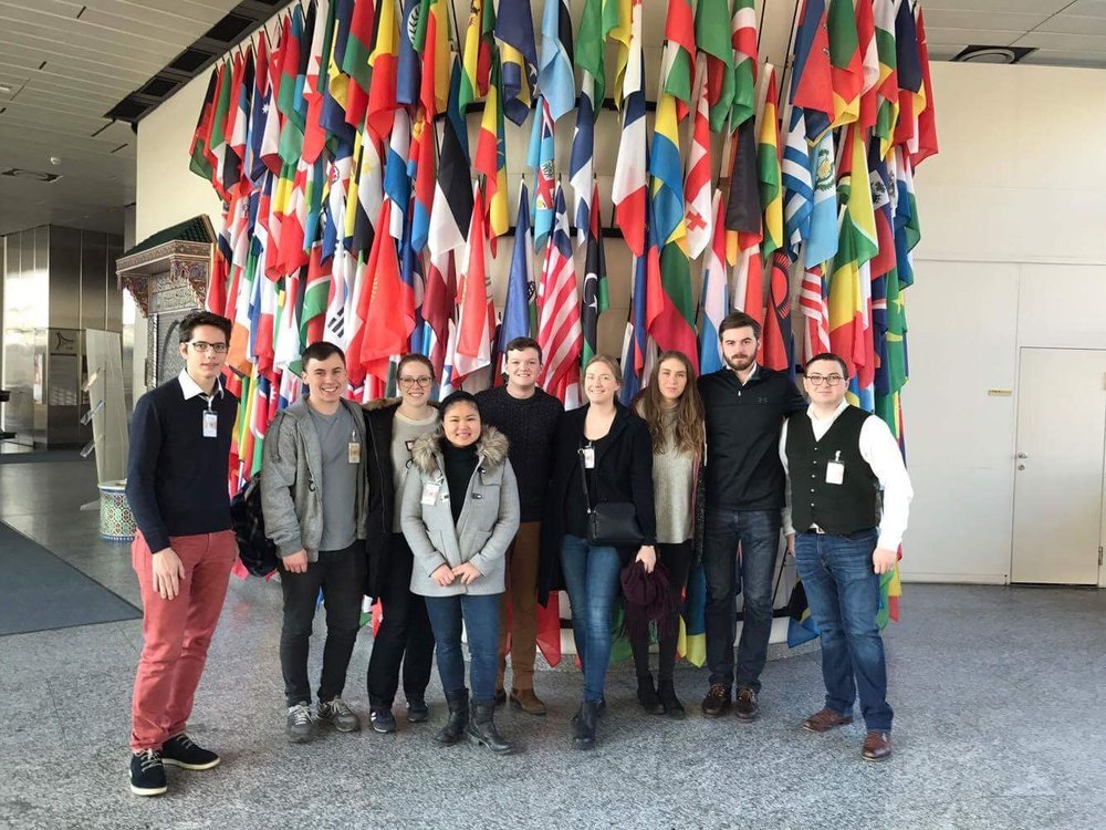Our Visit to the UN in Vienna 2017