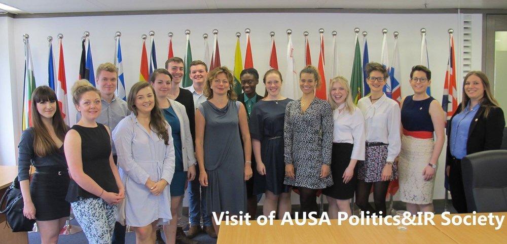 Visiting the EU Office to Hong Kong and Macau 2016