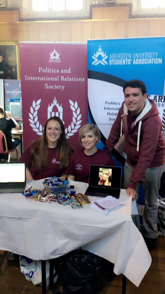 Our Freshers' Stall 2017