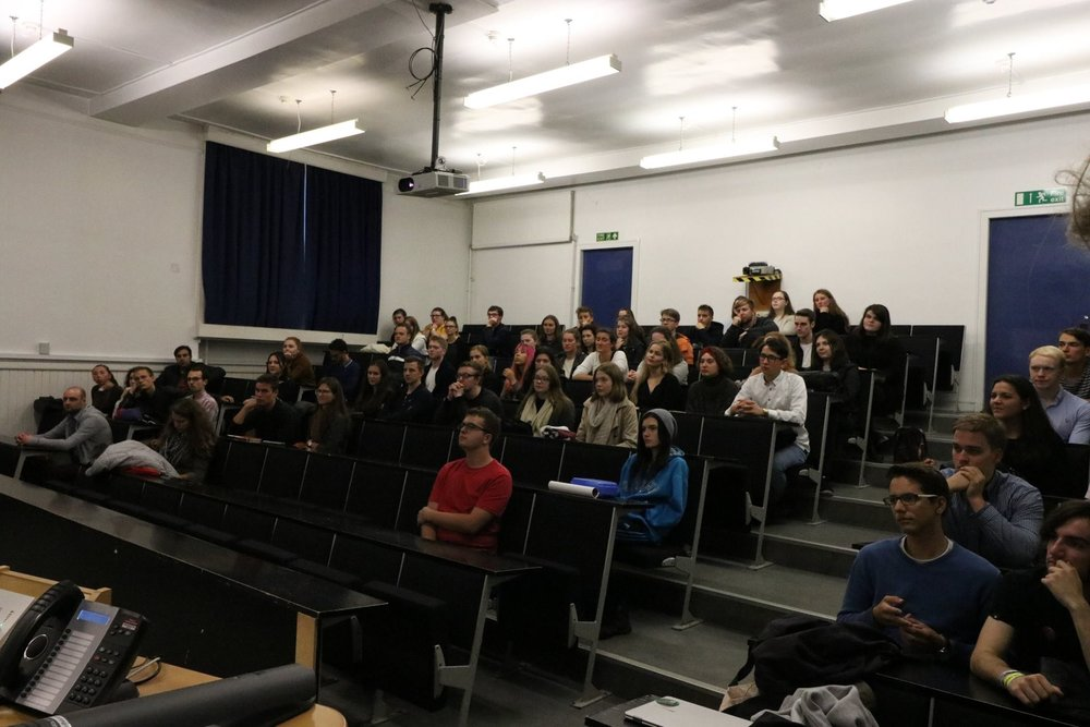 The Freshers' Information Session 2017
