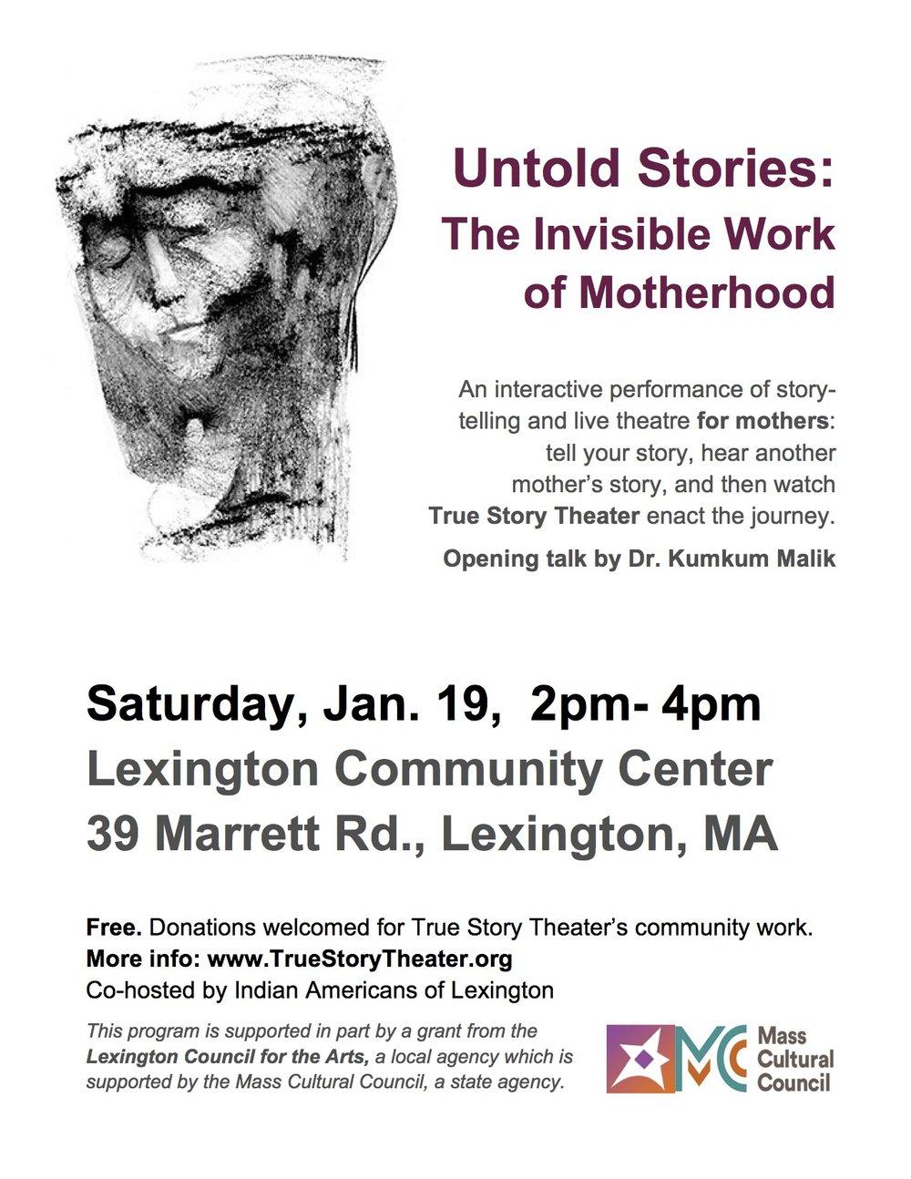Flyer Stories of Motherhood_ Lexington 2019 final.jpg