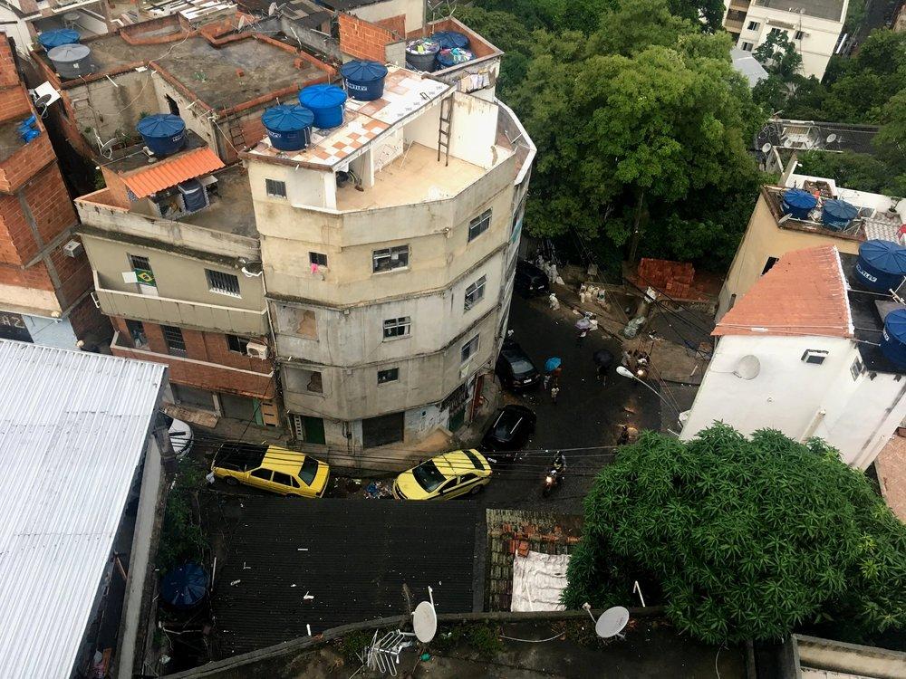 Vaade terrassilt tänavale
