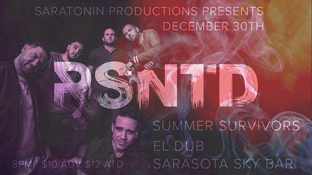 This show will be 🔥 @summersurvivors @el.dub.music @saratoninproductions @the_empire_agency