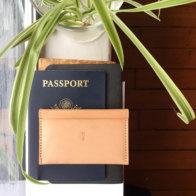 Ready for next adventure. . . . #goodmorning #traveler #adventure #travel #wanderlust #travelgear #leathergoods #leatherwallet #sustainablefashion #mavrotawny #madebyhand #madeintheUSA #madeinthepacificnothwest