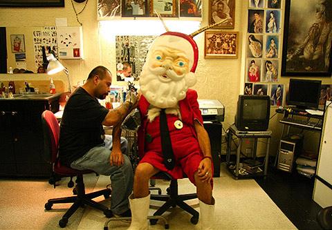 SANTALOPE Tattoo!!!! Los Angeles. 2008.