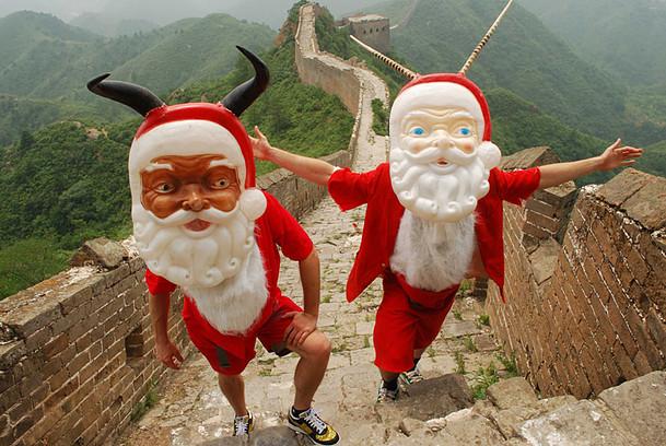 SANTALOPE! GREAT WALL OF CHINA. 2008.