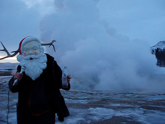 SANTALOPE! DRUNK IN ICELAND!!!! 2006