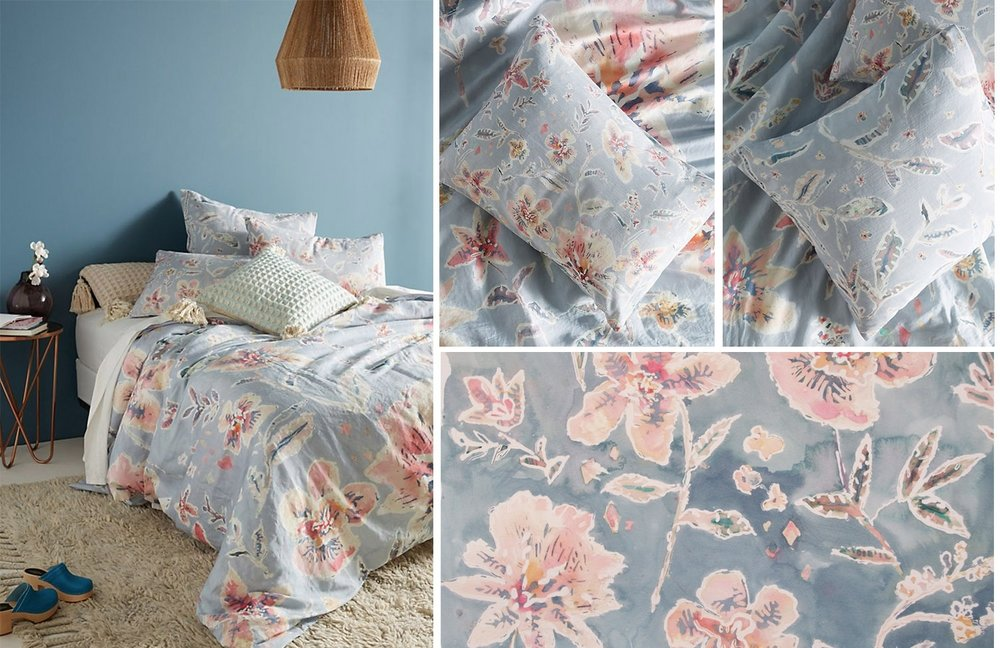 Anthropologie Home - Winslow Duvet - Spring 2018