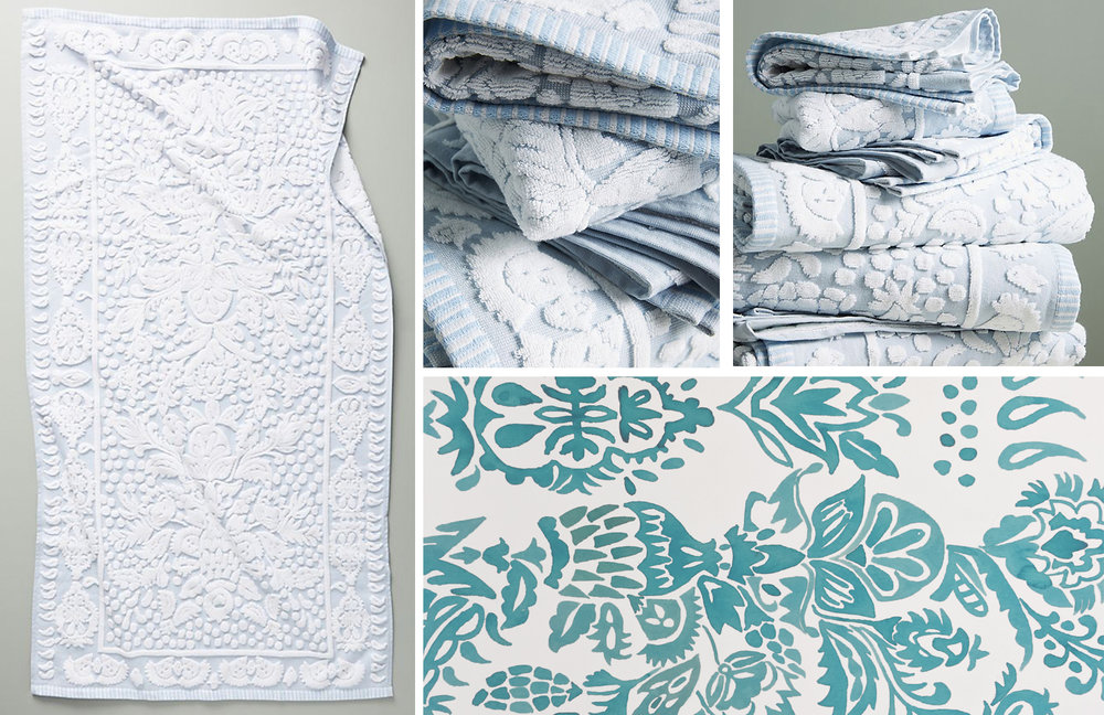 Anthropologie Home - Fisher Bath Towel - Fall 2018